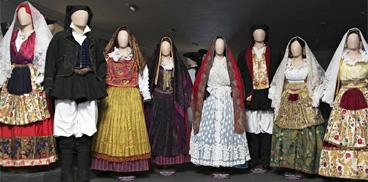 Vestiti sardi - Museo Etnografico Sardo a Nuoro